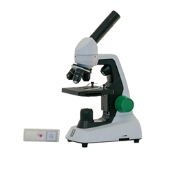First Microscope Kit with Prepared Slides